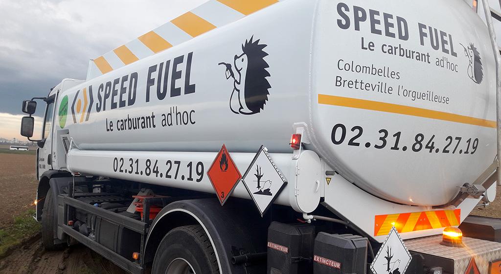 Livraison de gasoil sur votre exploitation effectuée par nos propres camions-citernes