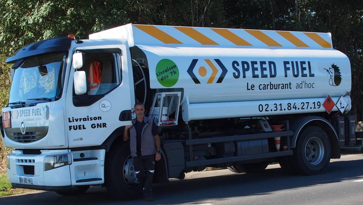 Yves Lemoine, nouveau livreur de fuel à Colombelles. | OUEST-FRANCE